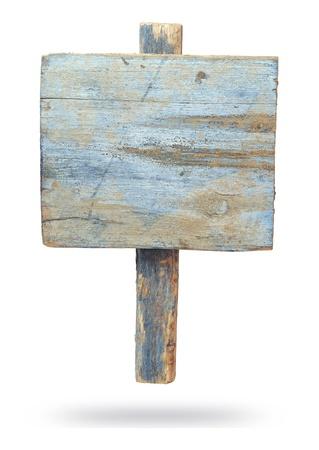 Cartello d'epoca isolato su uno sfondo bianco Archivio Fotografico - 20447393