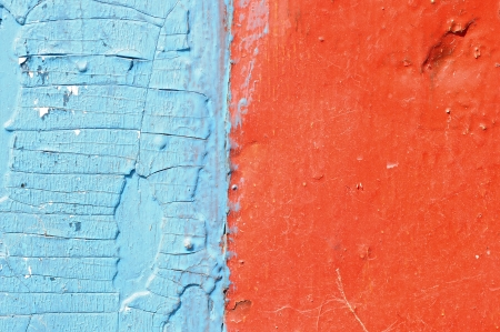 red and blue grunge wood  photo