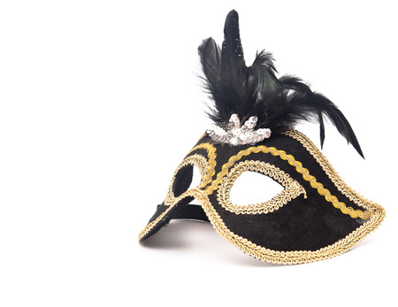Carnival mask isolated Stock Photo