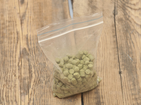 pellets of hops photo