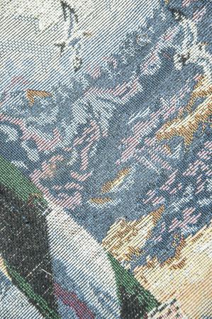 unblemished: Colorful napkins Stock Photo