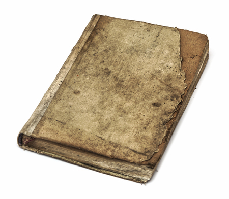非常に古い本のカバー