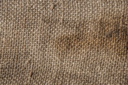 sackcloth: natural sackcloth textured for background Stock Photo