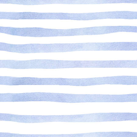 gentle light spring seamless pattern with blue stripes for packaging or fabric, wallpaper Stockfoto