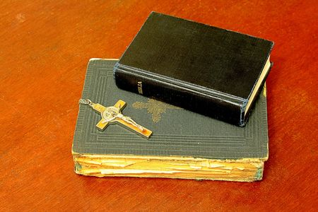 dogma: Bibles Stock Photo