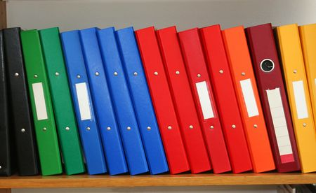 files shelf photo