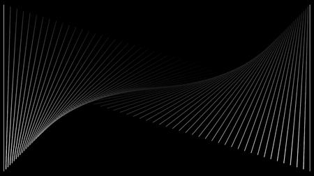 Linien Frequenz Hintergrundtextur Vektorgrafik