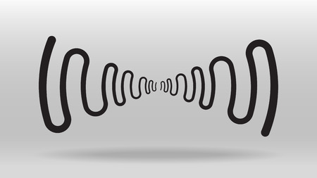 frequency sound wave vector background
