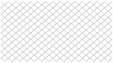 patrón de vector de malla de esgrima de eslabón de cadena