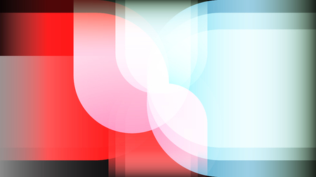 Red blue light colorful layers abstract vector background