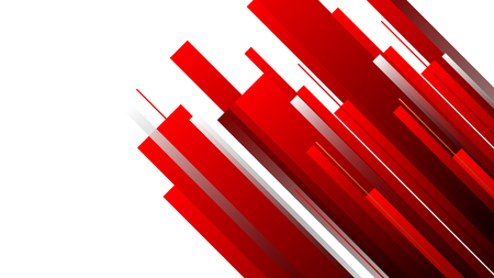 Connection red speed line abstract technology background
