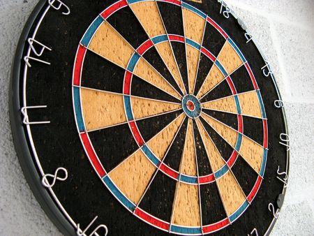 game of darts Фото со стока