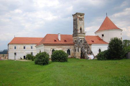 restaured bontida castle museum, public domain, transylvania, romania Stock Photo - 5403708