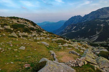 trecking: trecking in retezat national park