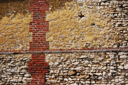 restauration: old wall