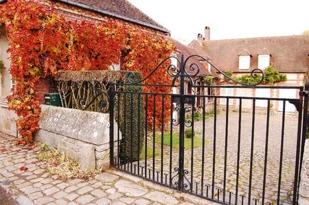 iron gate, france photo