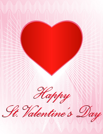 version: Vector Valentines Day Design - In vector version all elements are placed independently and can be reused