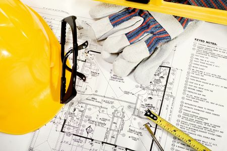 Stock image of home improvement, construction or remodeling concept photo