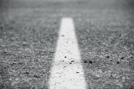 Stock image of paved road, selective focus Zdjęcie Seryjne - 133745135