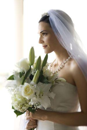 Portrait of bride. Stock Photo - 1806683
