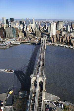 Brooklyn Bridge, NYC. photo