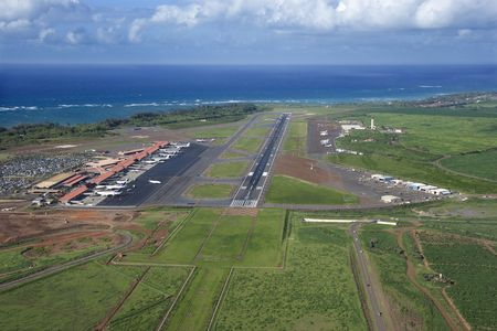 maui: Maui, Hawaii airport.