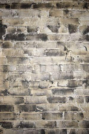 CLose up detail shot of brick wall. photo