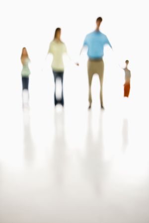 Soft focus  holding hands. Stock Photo - 1874309