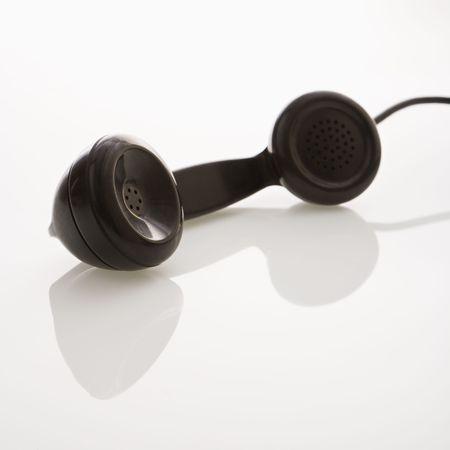 receiver: Receiver of telephone.