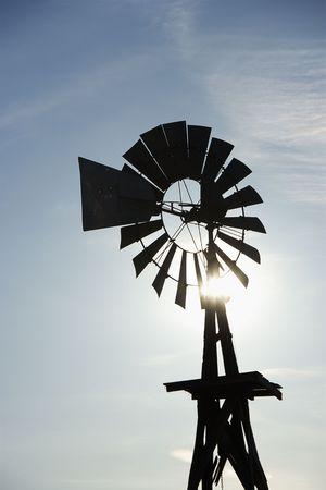 south dakota: Staglia windpump in Sud Dakota, Stati Uniti d'America.