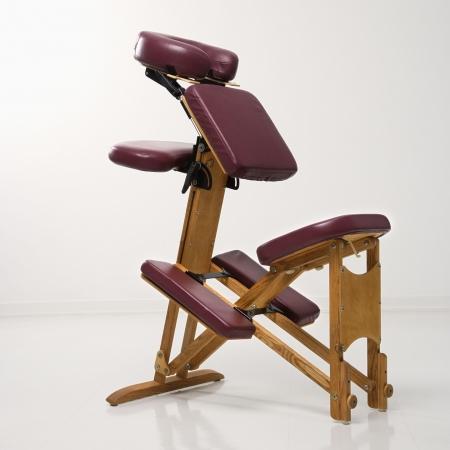 Still life of massage chair.