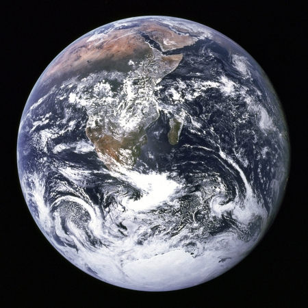 nasa: NASA image of Earth from outer space. Stock Photo