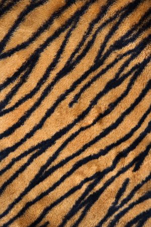 Close up shot of tiger print carpet.