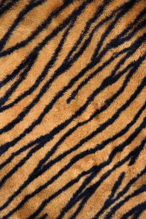 Close-up shot van tijger print tapijt. Stockfoto