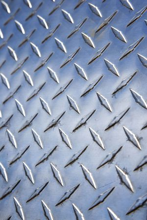 crosshatch: Diamond plate metal texture.