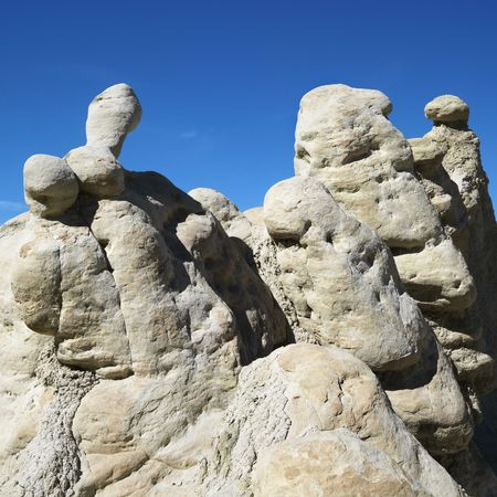 Rock formations in Cottonwood Canyon, Utah. Stock Photo - 2236520