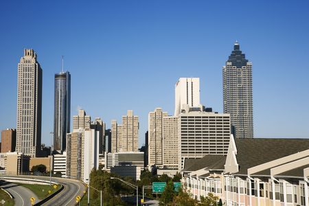 Skyline of Atlanta, Georgia. Stock Photo - 2245661