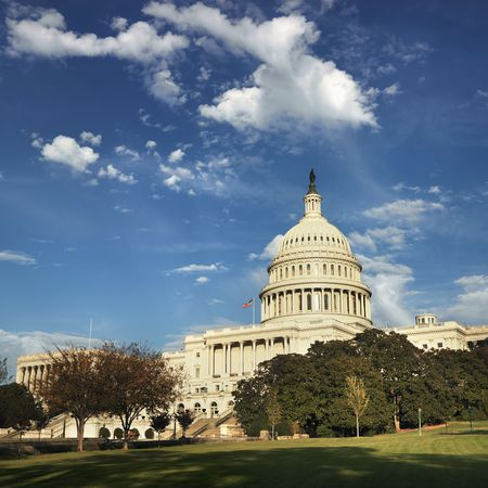 dc: Capitol Building a Washington, DC, Stati Uniti d'America.