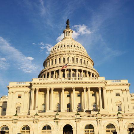 dc: Capitol Building di Washington, DC, Stati Uniti d'America.  Archivio Fotografico