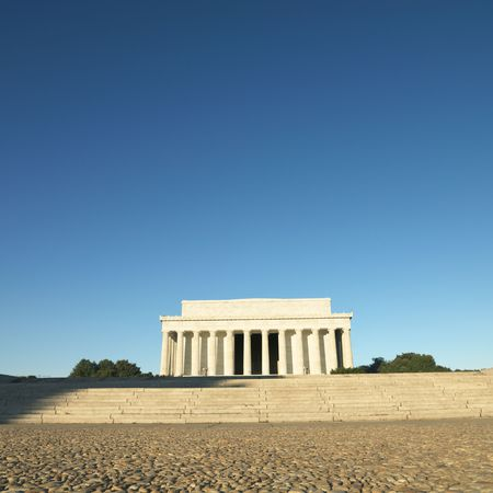 Lincoln Memorial in Washington, D.C., USA. photo