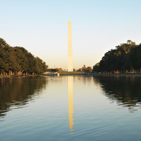 district of colombia: Washington Monument in Washington, DC, Stati Uniti d'America.