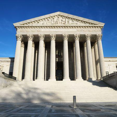 dc: Corte Suprema Building, Washington, DC, Stati Uniti d'America. Archivio Fotografico