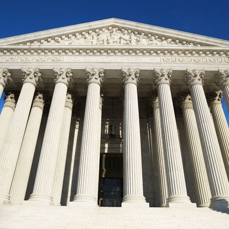 dc: Supreme Court Building, Washington, DC, Stati Uniti d'America.
