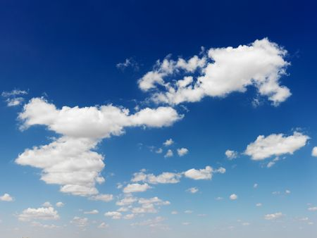 Cumulus cloud formation in blue sky. Stock Photo - 2555612
