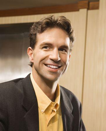Caucasian businessman portrait. Stock Photo - 2615881