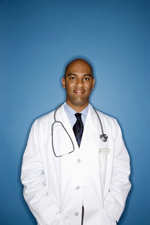 Portrait of male African American doctor. Stock Photo - 6908267