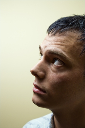 Profile portrait of young Caucasian man. Stock Photo - 6924728
