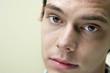 Close up portrait of young Caucasian man. Stock Photo - 6924741