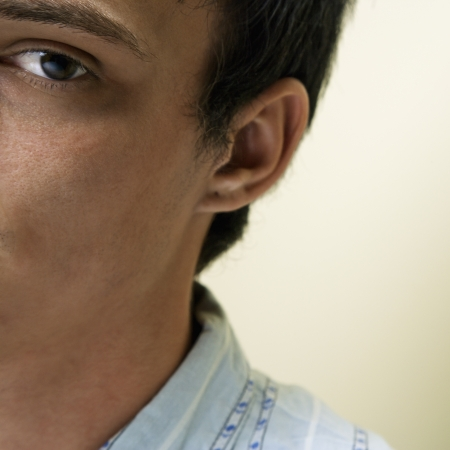Close up portrait of young Caucasian man. Stock Photo - 6924708