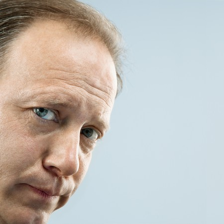Close up portrait of middle aged Caucasian man. Stock Photo - 6924731